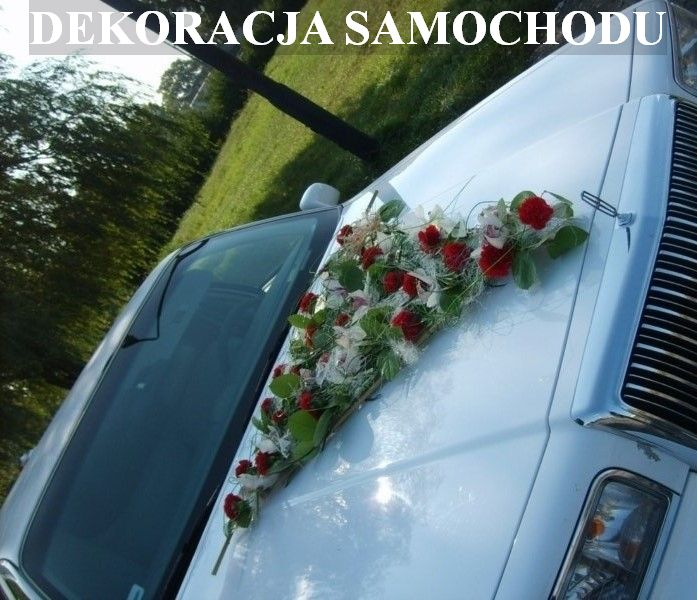 DEKORACJA SAMOCHODU
